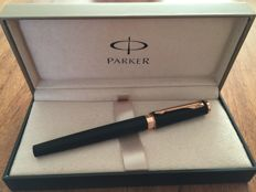Parker Ingenuity Brown Rubber Rose