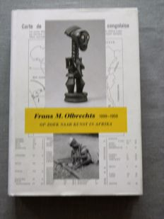 Three books about Ethnography - Frans M. Olbrechts - 1935/2001