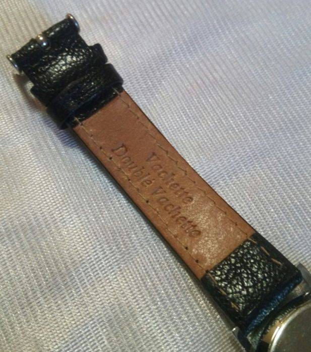 Bmw quartz watch with leather band made in switzerland for 902 10 23 43