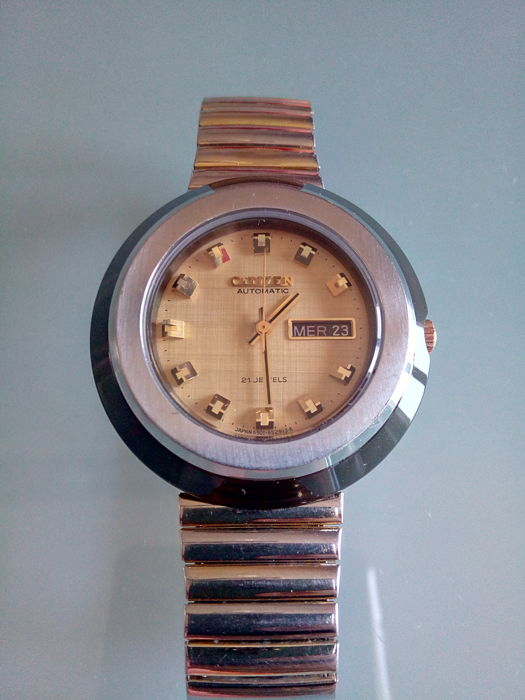 Citizen automatic – unisex – 1970s - Catawiki