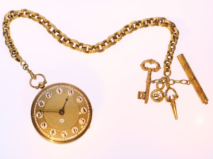 Georgian style pocket watch - Heren - Vóór 1850