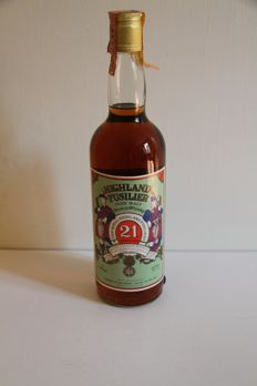 Highland Fusilier 21 years old - bottled 1978