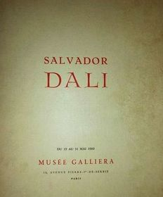 Salvador Dali - Musee Galliera 1960 La Devine Comedie VGC 95 Pages - Illustrated