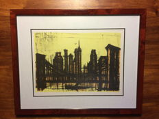 Bernard Buffet - Vintage prints  - New York series - no. 59 - 1967