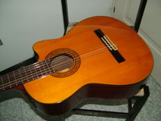 Electrified classical guitar Jasmine by Takamine model Tc28c - Korea - 1990s