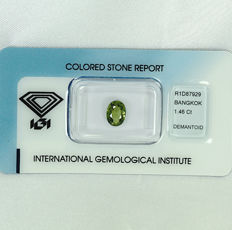 Demantoid garnet – 1.46 ct