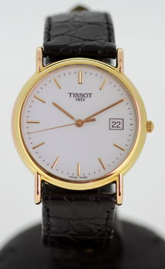 Tissot - A Gentleman's 18K gold wristwatch