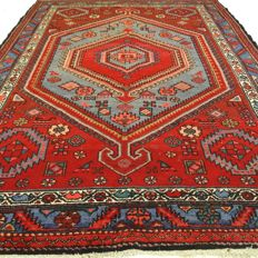 "Hamadan - 210 x 148 cm - ""Persian runner in nice condition"""