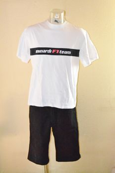 Minardi F1 > Team Uniform ( T-Shirt & Shorts ) Team Only !