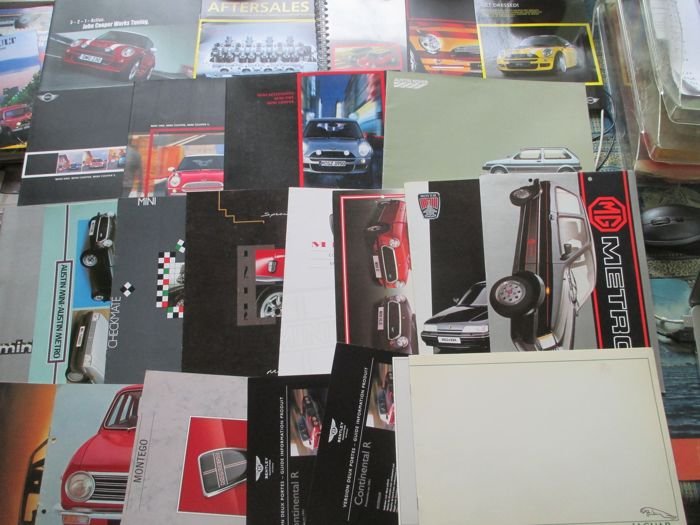 Brochures / Catalogues - Austin/Mini - 1974-2004 (25 objets)