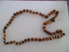 African neolithic stone necklace.