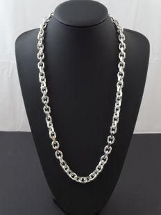 Silver, 925 kt necklace – 68.6 cm