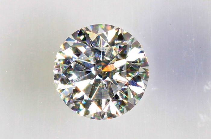 0.12 ct – Brilliant cut diamond – D, VS1 – NO RESERVE PRICE