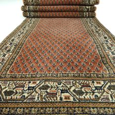 Mir - 275 x 71 cm - oriental runner in wonderful, mint condition - with certificate