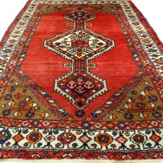 "Hamadan - 186 x 136 cm - ""Persian carpet in nice condition"" - With certificate"