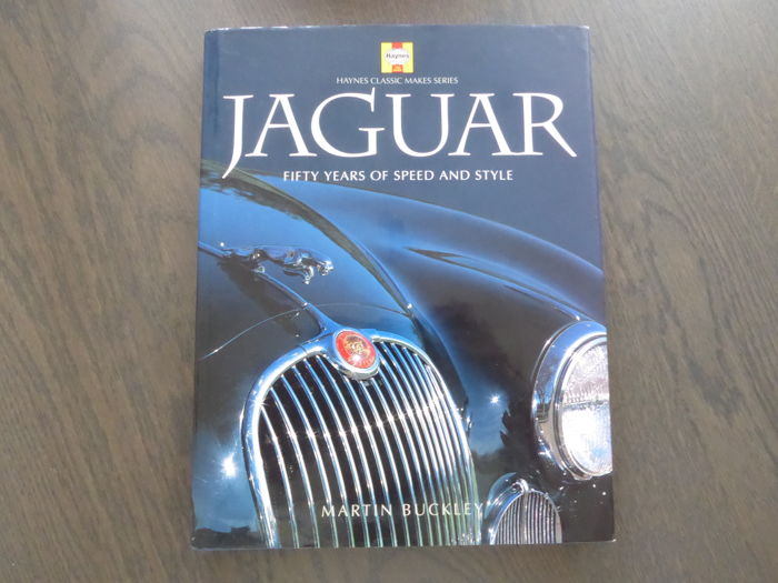 Book - Martin Buckley - Jaguar Fifty years of speed and style - 1998
