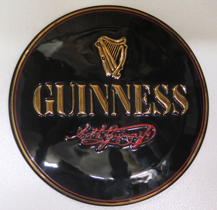 Guinness ceramic wall sign - 1990s