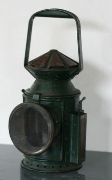 Vintage WWII British Military Signal Lamp Wakefields