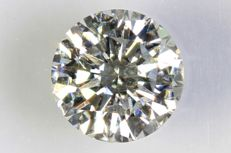 0.31 ct – Brilliant cut diamond – G, SI2.