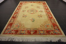 Wonderful Art Deco China Orient carpet Made in China 195 x 300 cm
