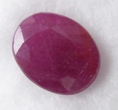 Ruby – 4.99 ct – No Reserve Price