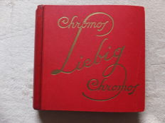 Album Chromos Liebig - 48 old series of 6 cards - Liebig edition in very good condition - from 1911 to 1913.