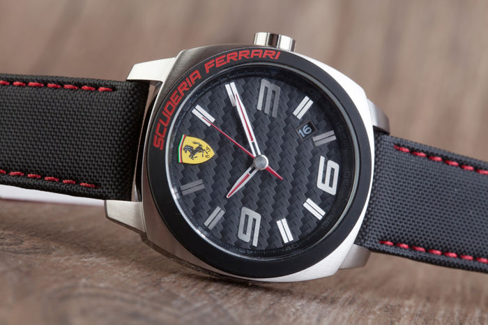 Ferrari Aero Evo men's wristwatch in mint condition, 2017.