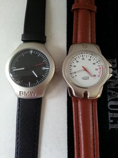 Set of 2 watches - Renault Megane / BMW - Collectors  watches