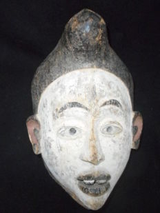 Very old BACONGO Mask - Congo.