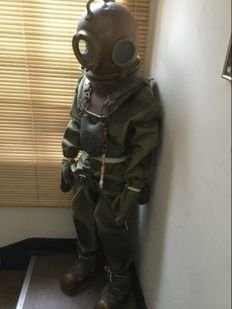 Complete set Russian military diver outfit