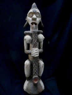 Great IBO or IGBO Zoomorphic Statue - Nigeria