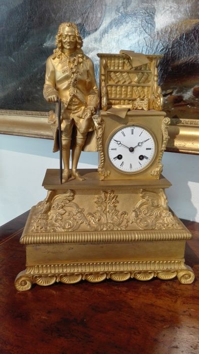 Parigina pendulum table clock - circa 1830