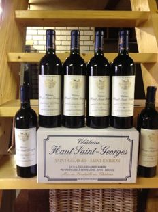 2005 Chateau Haut-Saint-Georges, Saint-Georges-Saint-Emilion - 6 bottles (750ml) in OCB