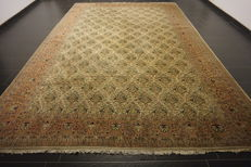 Royal handwoven Oriental palace carpet Kayseri courier pattern Made in Turkey Carpet Tapis Tappeto 270 x 410 cm