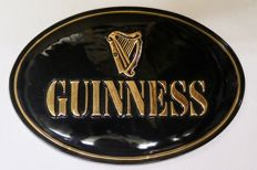 Guinness ceramic wall sign