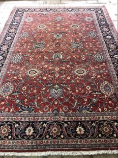 Hand knotted persian kashan mid 20th century size:365x255 cm