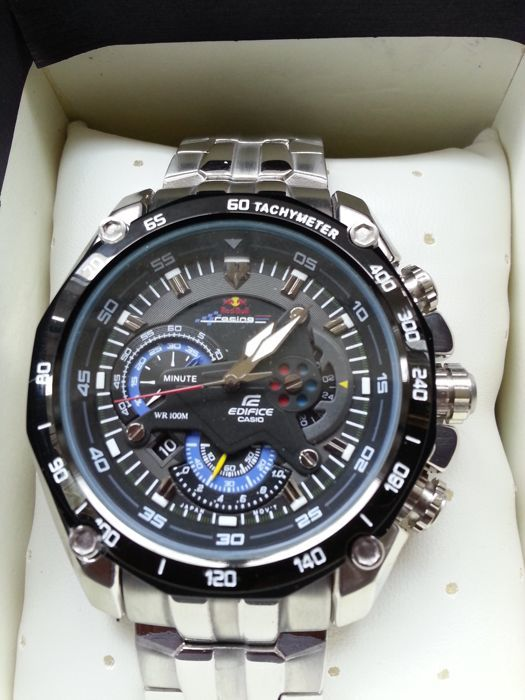 Buy casio edifice red bull racing limited edition watch efr-520rb.