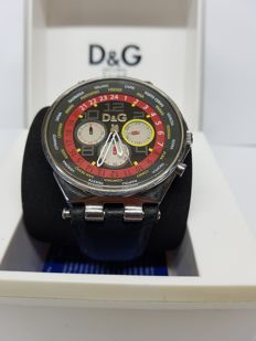 D&G Wristwatch ref: 3.71977.019.4 - Special Edition with Italian cities Name