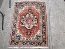 Beautiful antique Persian Heriz carpet, handmade, 200 x 282 cm