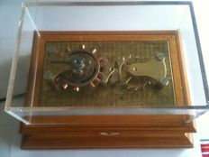 Display educational cylinder escapement - Made in 1930