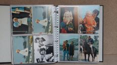 Very extensive album of postcards - Royal House, official press cards