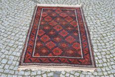 INTERESTING OLD BELUCH RUG WOOL 190/112