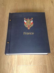 France 1849/1970 – A very well-filled collection in a Davo album