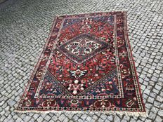 Old PERSIAN Bakhitari RUG Hand knotted 213x145 cm