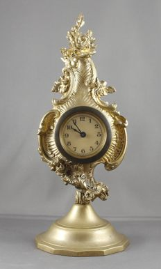 German table clock - approx. 1920