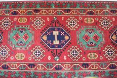 Beautiful Kazakh Runner – 20th century, around 1980 - measurements - 330 x 80 cm