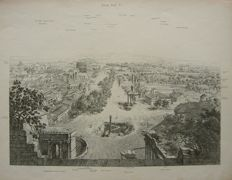 Italy, Rome and area; E.C. Schmidt - 5 pages - ca. 1840