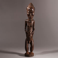 Blolo Bian Altar Statue from the BAOULE People - Ivory Coast