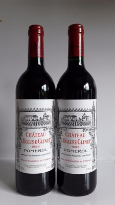 1993 Chateau L'Eglise-Clinet, Pomerol - 2 bottles