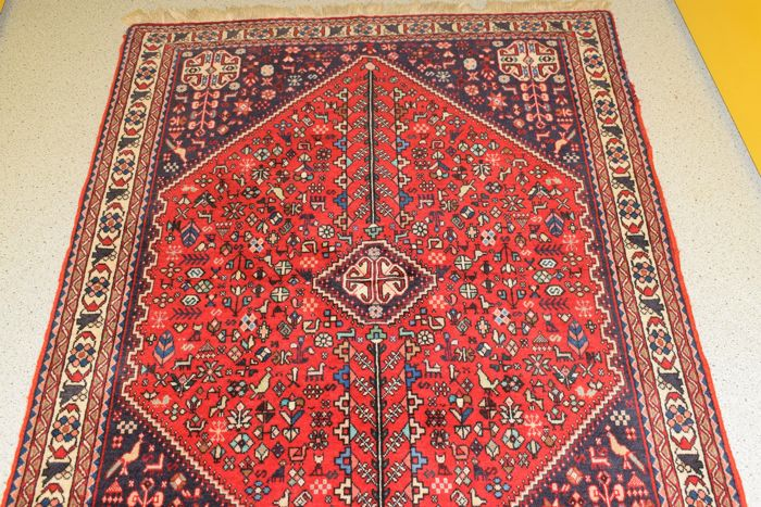 beautiful Persian rug, Abadeh - second half last century -  155 x 105